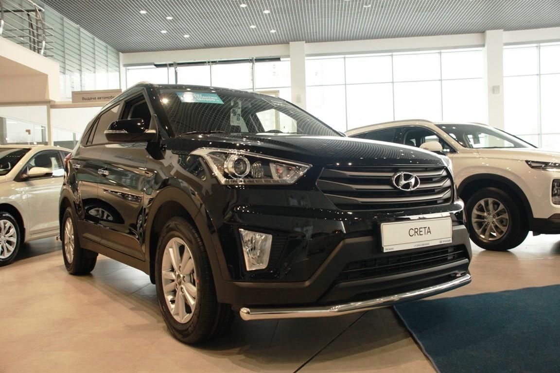 Hyundai Creta в «Регинас»: в наличии от 776 000 руб. Кредит от 0,1% или от 7000 руб./мес.