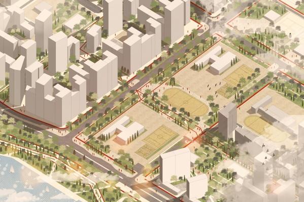 На ВИЗе хотят построить огромный район и уже объявили общественные обсуждения