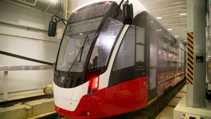 В Пермь прибыли два новых трамвая «Лев» и «Львенок»