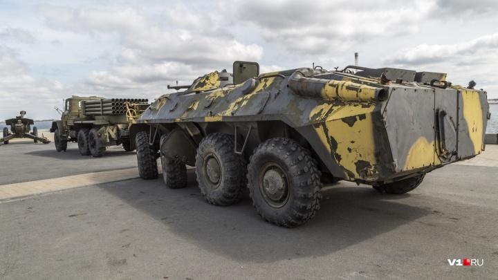 «Город, которого нет?»: волгоградцы боятся пожара на выставке военной техники у «Гасителя»