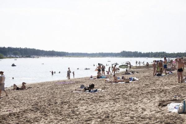 Пляж «Куба» работает на Муллашах