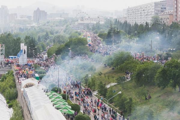 В этом году праздничные гулянья дня города продлятся с 1 по 12 июня