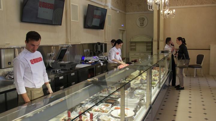 На месте «Ля Мезона» открылась элитная кулинария с итальянским сыром из Белоруссии