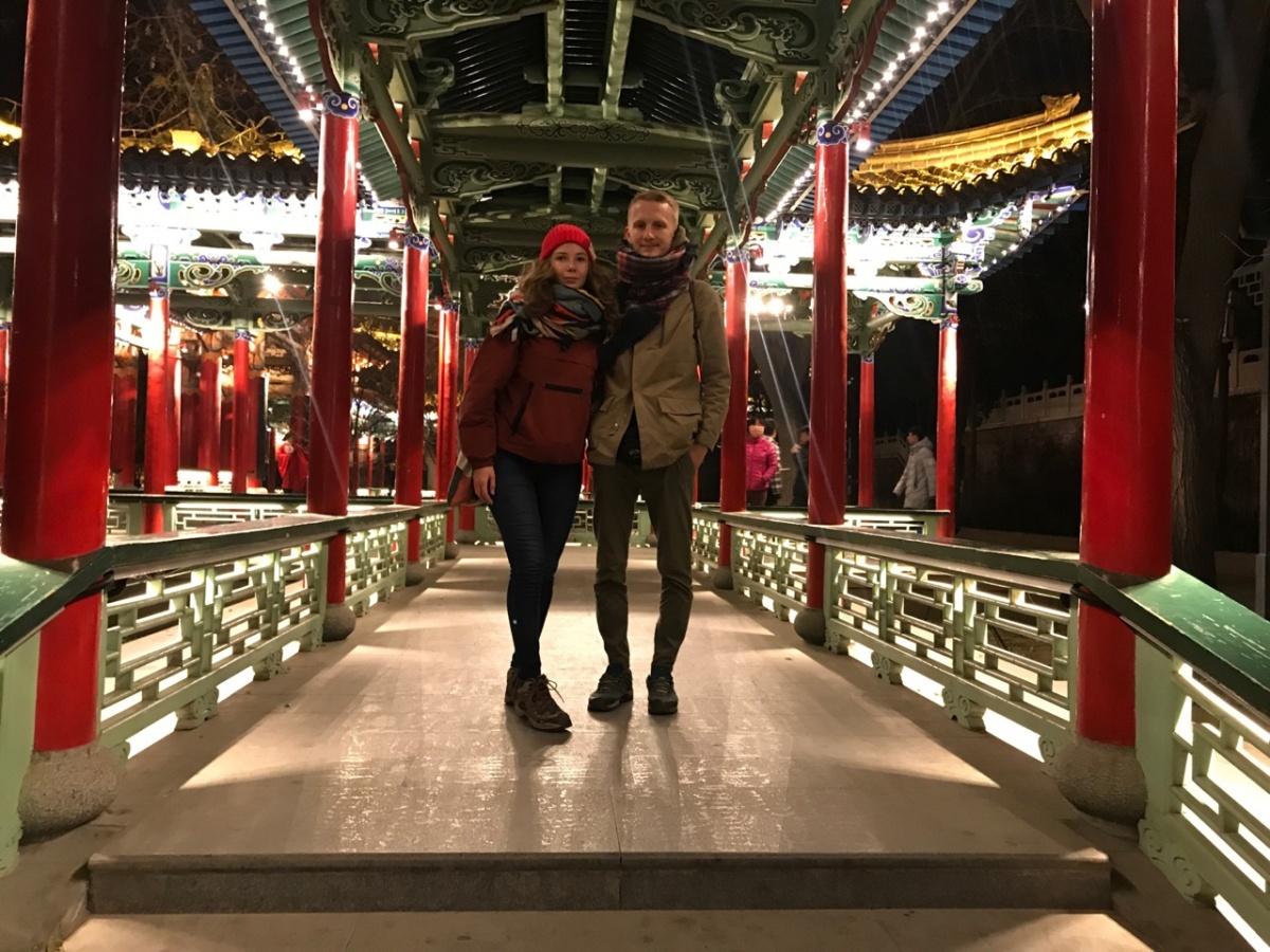 Кругосветка Ильи и Даши: работали в ночном клубе в Шанхае и спали в кафе, как бомжи