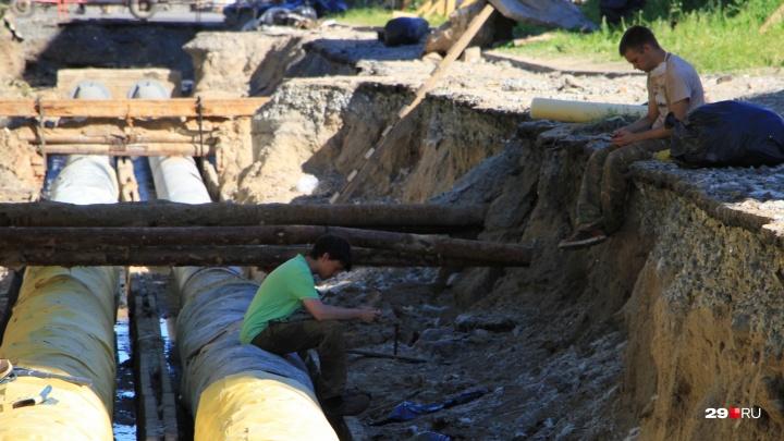 Почти в сотне домов нет воды: кто в Архангельске остался без благ цивилизации сегодня