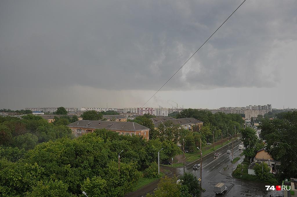 Погода испортится к вечеру 9 мая