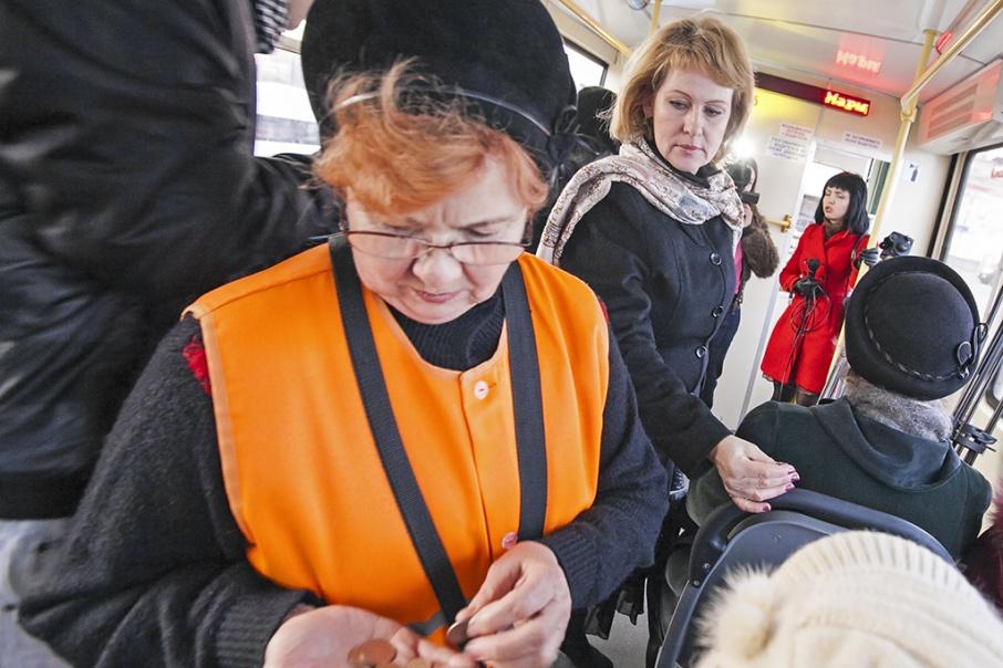 Трамвайщики заметили увеличение выручки после того, как усилили маршрут № 18