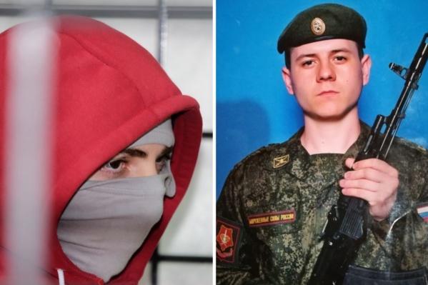 На суде Рамазан Магомедов (на фото слева) вину не признал. Погибший Рустам Авазов (справа) мечтал связать жизнь с авиацией