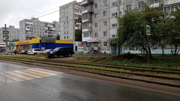 Переход на Лермонтова, который упирается в газон, признали небезопасным