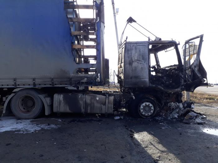 Последствия пожара под Коченёво