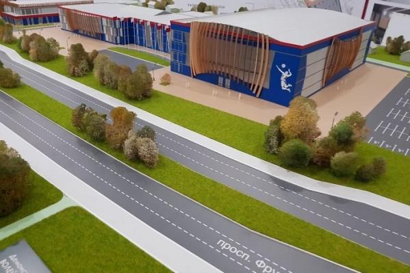Спортивный центр хотели построить на проспекте Фрунзе