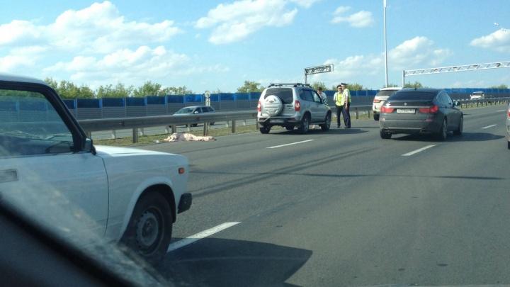 На трассе Уфа — Аэропорт насмерть сбили пешехода