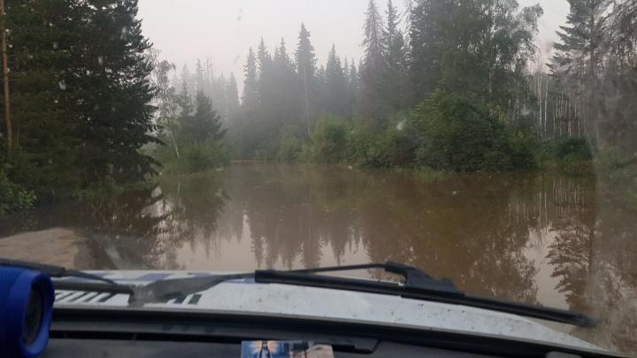 Ещё две реки вышли из берегов в крае: началась эвакуация людей в Богучанском районе