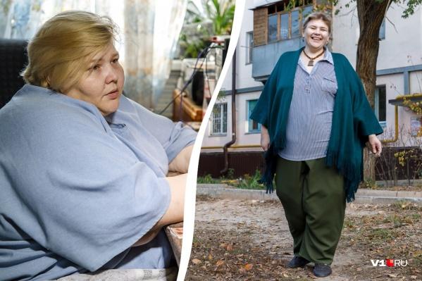 Женщина до сих пор не может поверить в свою победу над весом