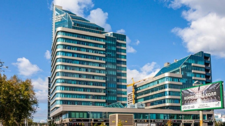 В Екатеринбурге на продажу выставили два высотных бизнес-центра