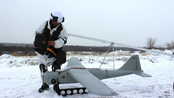 Фото: армейский спецназ устроил перестрелку из пулемётов и гранатомётов с ненастоящими боевиками