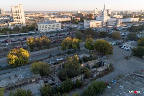 Разрушенные склады у автовокзала изъяты мэрией под проект транспортно-пересадочного узла