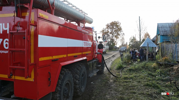 Отравились продуктами горения: СК возбудил дело после гибели в Кизеле на пожаре троих человек