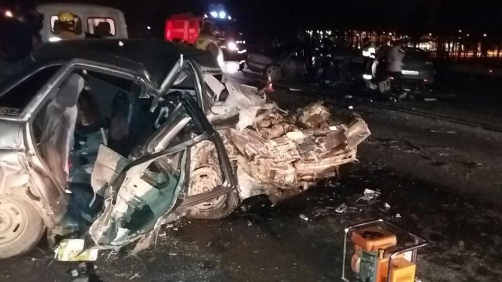 Жуткое ДТП с тремя машинами на ЕКАД случилось из-за превышения скорости водителем Mercedes