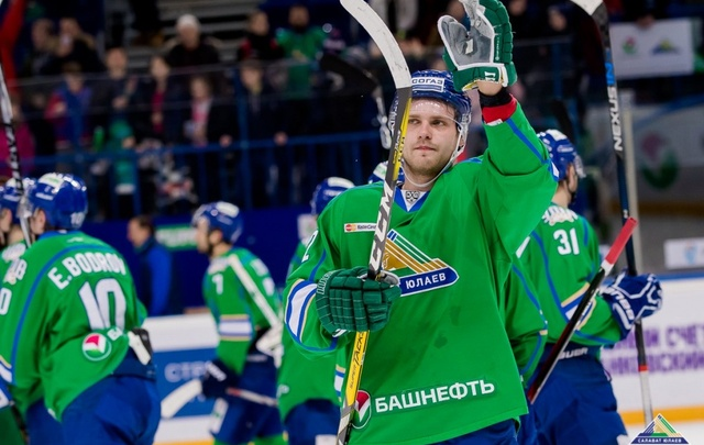 Игрок «Салавата Юлаева» продлил контракт с клубом на два года