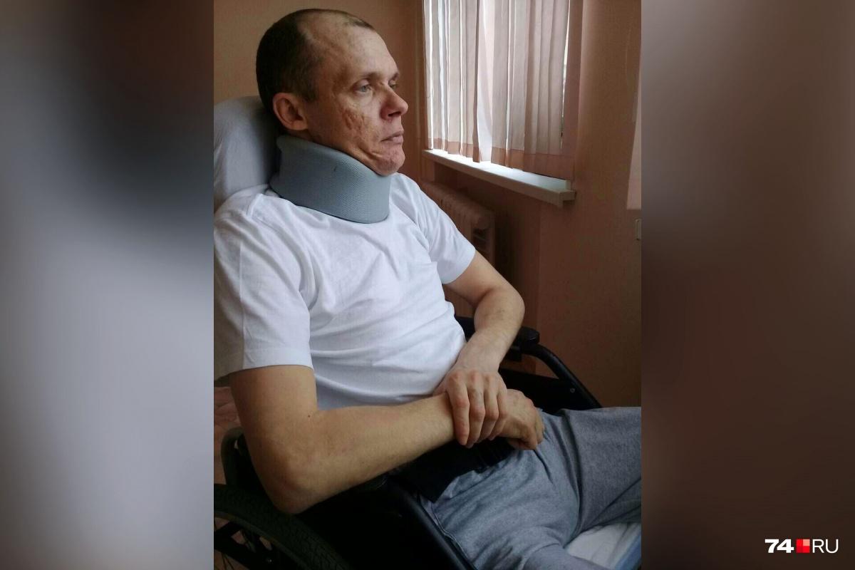 Всего за три года болезнь усадила молодого мужчину в инвалидное кресло