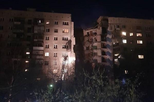 Взрыв произошел около 6 утра