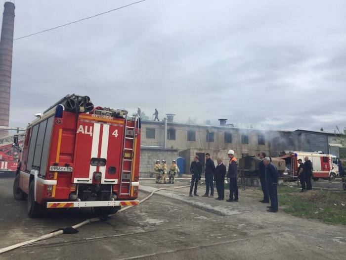 Дым над промплощадкой видели многие жители района