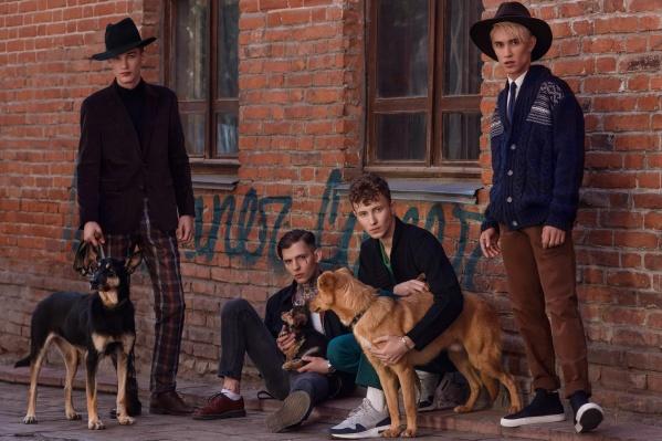 В проекте приняли участие четыре собаки из «Первого городского приюта»