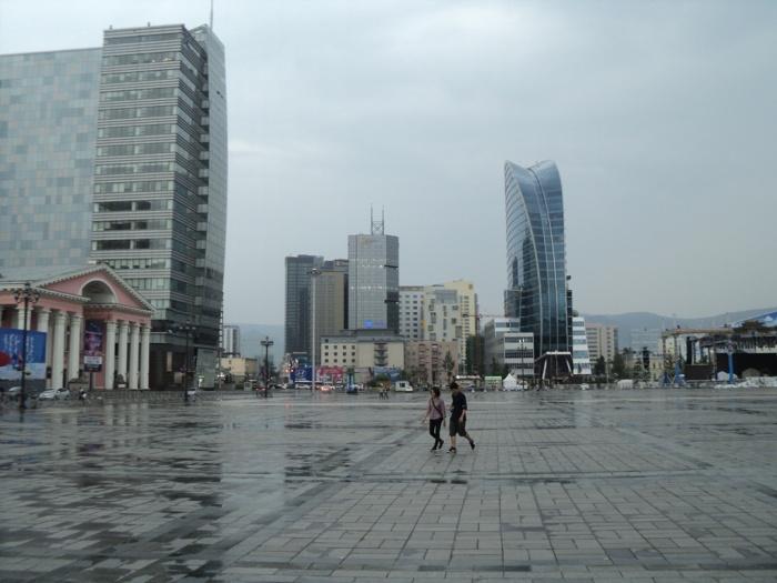 Бизнес-район Улан-Батора