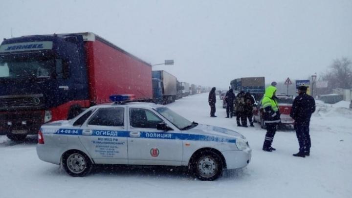 В Волгоградской области ожидаются снегопад и сильный ветер 18 м/c