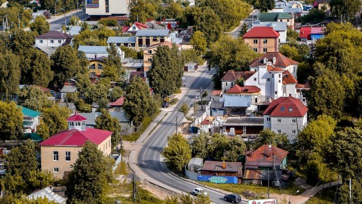 Частные дома в Нижнем Новгороде приведут к единому стилю