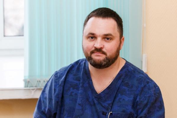Андрей Корыткин уже вышел на работу в НИИТО