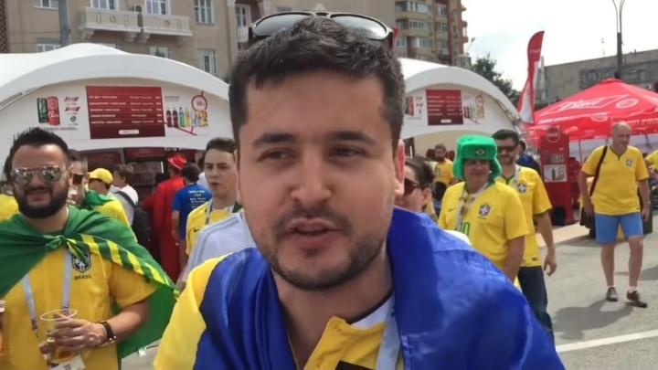 «Организация ЧМ — супер»: блогер с Украины приехал в Россию, наплевав на запреты властей