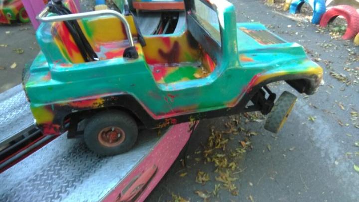 Авария произошла на одном из ростовских аттракционов, когда там катался ребенок
