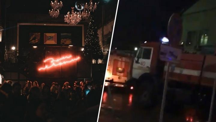 В Тюмени из-за пожара эвакуировали всех посетителей «Дома Печати»