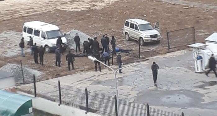 Полицейские открыли стрельбу в районе Южного автовокзала из-за нелегальных парковщиков