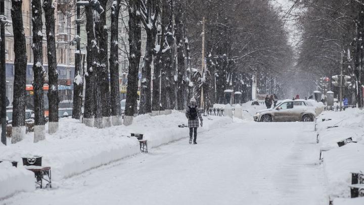 Похолодание и снег: рассказываем о погоде в Прикамье на неделю