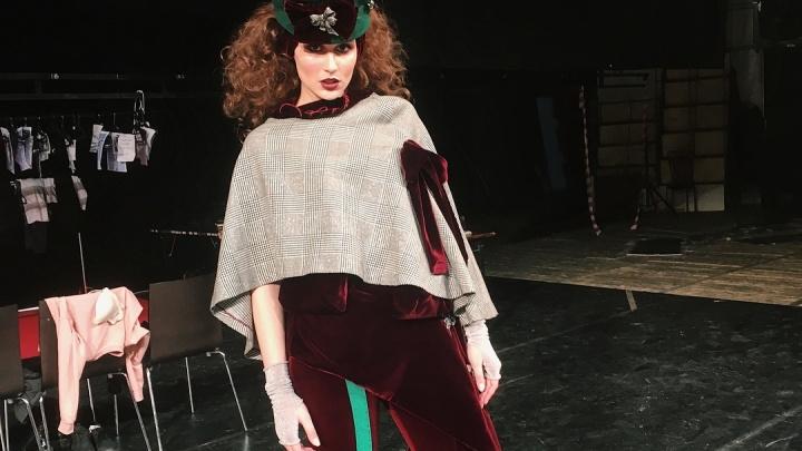 Известный питерский дизайнер устроил показ мод в Красноярске