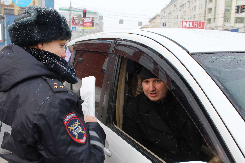 Фото предоставлено группой пропаганды ГИБДД по Новосибирску