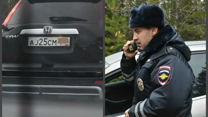 В засаде с гаишниками: ловим на Серовском тракте водителей-хитрецов, скрывающих номера авто