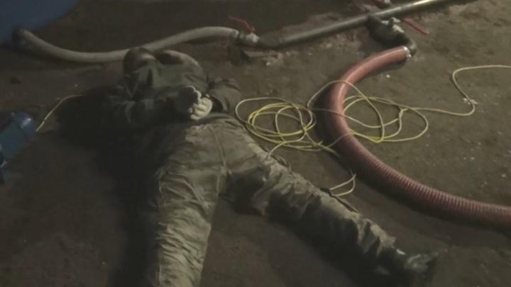 Присосались к трубе: оперативное видео задержания похитителей топлива в Кстовском районе