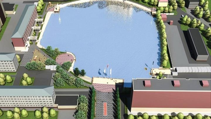 Стало известно, сколько будет стоить благоустройство окрестностей озера на левом берегу