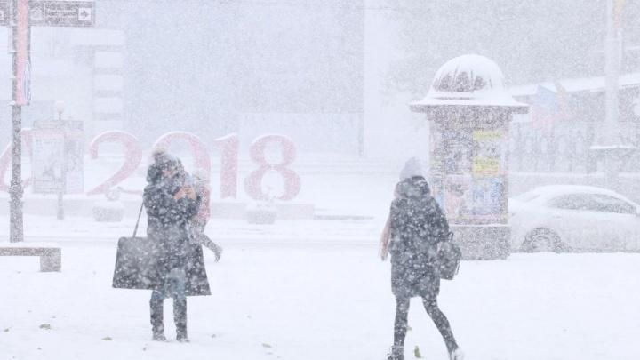 Сильный ветер, гололед и снегопад: в Ростове объявили штормовое предупреждение