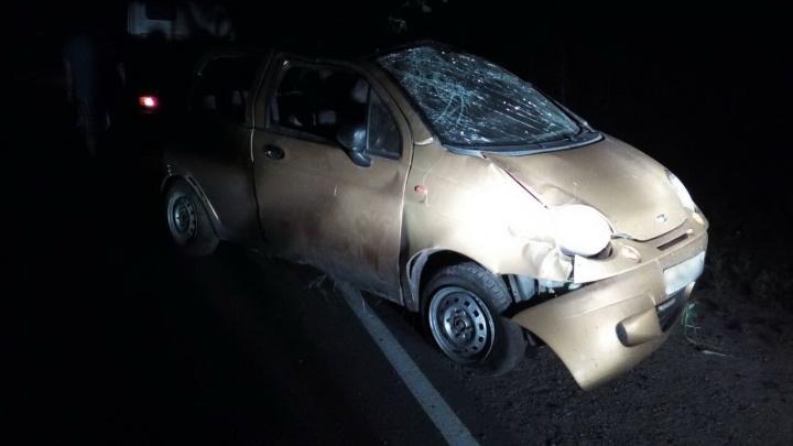 На трассе в Зауралье в ДТП погиб мужчина