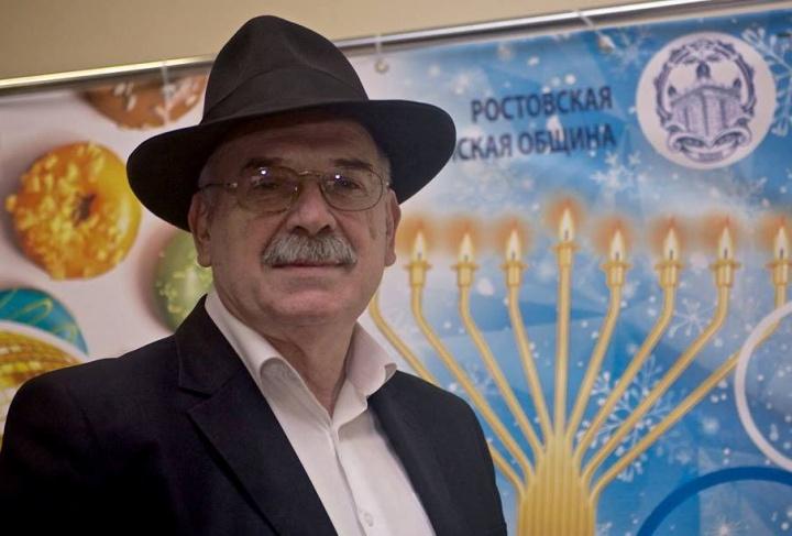 АрхивариусРостовской еврейской религиозной общины Владимир Ракша