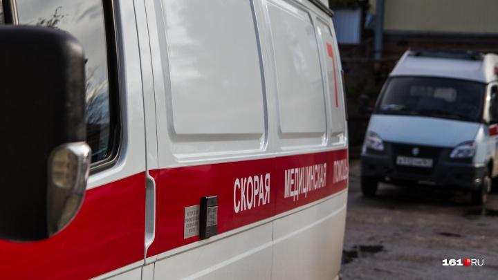 В ДТП в Азовском районе погибла женщина и сильно пострадал ребенок