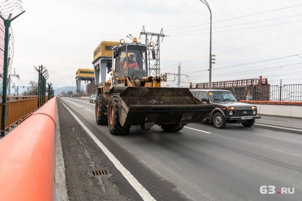 Обновленную дорогу на ГЭС открыли в ноябре прошлого года