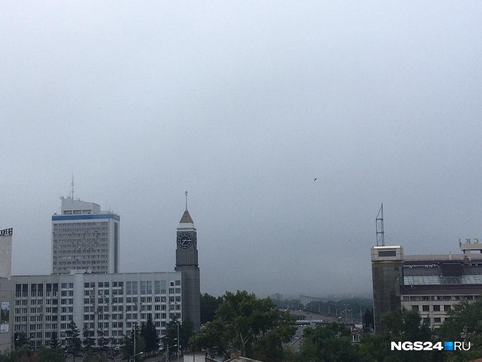 Изаэропорта Красноярска из-за туманов несмогли вылететь несколько самолетов