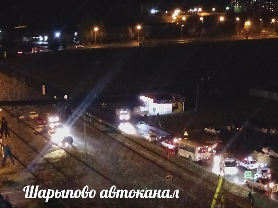 ВКрасноярском крае шофёр  насмерть сбил 3-х  человек напешеходном переходе