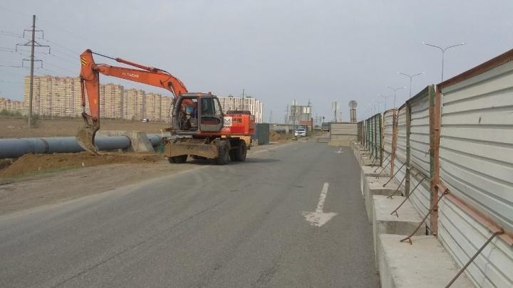 Для жителей Тюменской слободы начали строить надземный переход через объездную